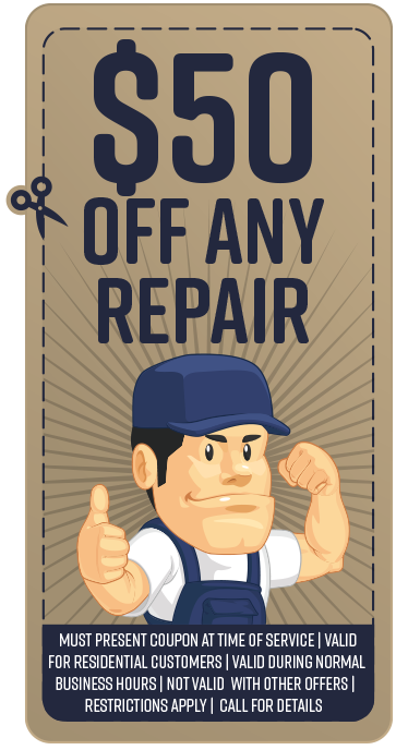 Coupon $50 Off Repair